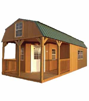 WRAPAROUND PORCH LOFTED BARN CABIN