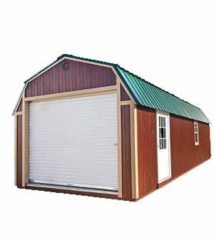 Urethane Building Styles   Lofted Barn Garage   Geronimo ...