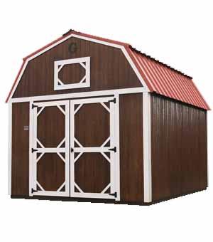Urethane Building Styles   Lofted Barn   Geronimo ...